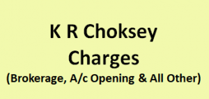 K R Choksey Charges