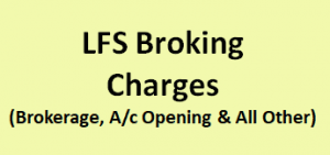 LFS Broking Charges