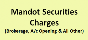 Mandot Securities Charges