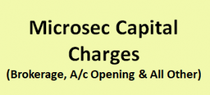 Microsec Capital Charges