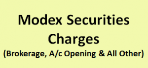 Modex Securities Charges