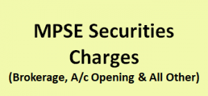 MPSE Securities Charges