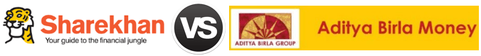 Sharekhan vs Aditya Birla Money