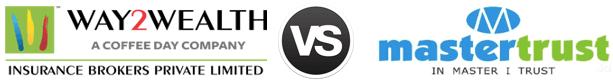Way2Wealth vs Mastertrust