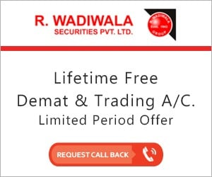 R Wadiwala Securities offers