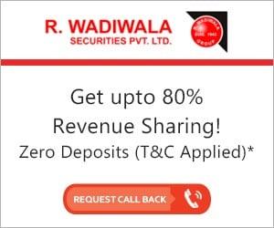 R Wadiwala Securities Sub Broker