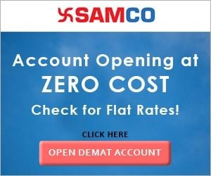 Samco Securities Offers