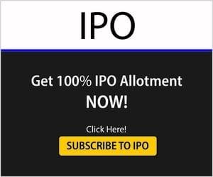 IPO - 100% Allotment