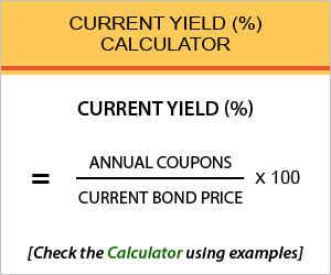 Current Yield Calculator