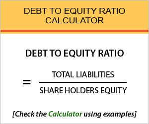 Debt Equity Ratio Calculator