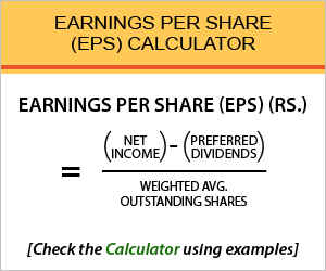 Earnings Per Share Calculator