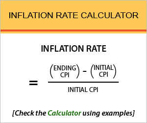 Rate of Inflation Calculator