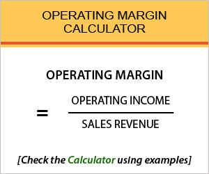 Operating Margin Calculator