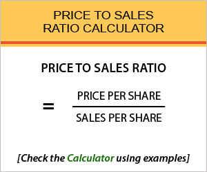 Price to Sales Calculator