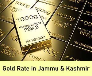 Gold Rate in Jammu & Kashmir