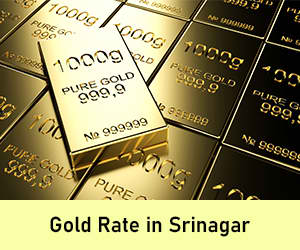 Gold Rate in Srinagar