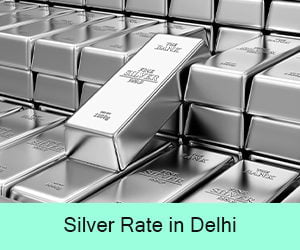 Silver Rate in Delhi