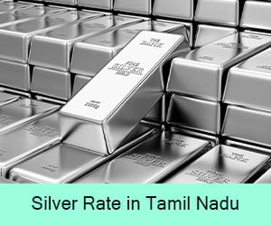 Silver Rate in Tamil Nadu