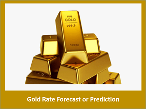 Gold Rate Forecast or Gold Price Prediction