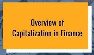 Capitalization in Finance