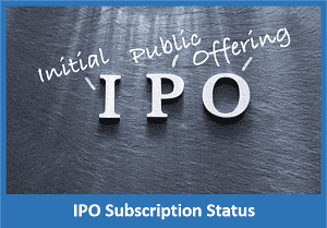IPO Subscription Status